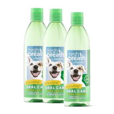 Tropiclean Fresh Breath Water Additive Original For Dogs 473ml x 3