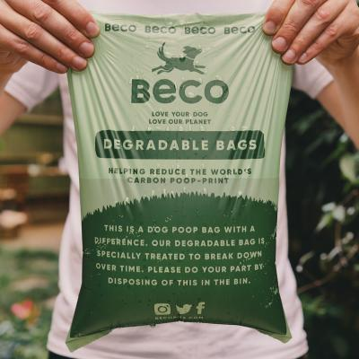 Beco Bags Unscented Poop Bags For Dogs 120 Pack