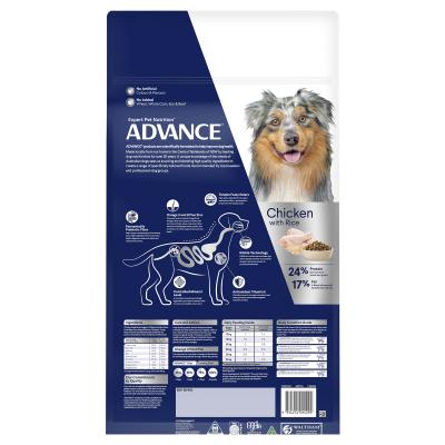 Advance Chicken All Medium Breed Adult 15 Months - 6 Years Dry Dog Food 40kg