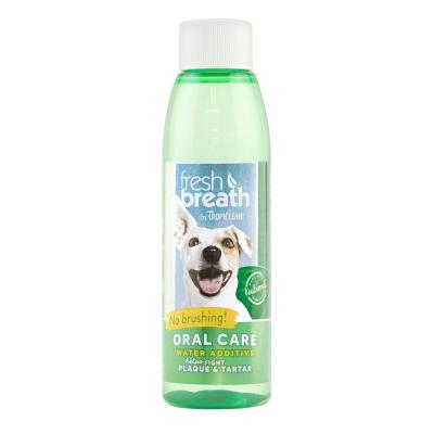 Tropiclean Fresh Breath Water Additive Original Sample Bottle For Dogs 118ml