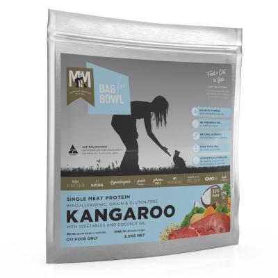 Meals for Meows MfM Single Meat Protein Grain Free Kangaroo Adult Dry Cat Food 2.5Kg