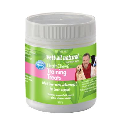 Vets All Natural Training Treats Health Chews For Dogs 275g
