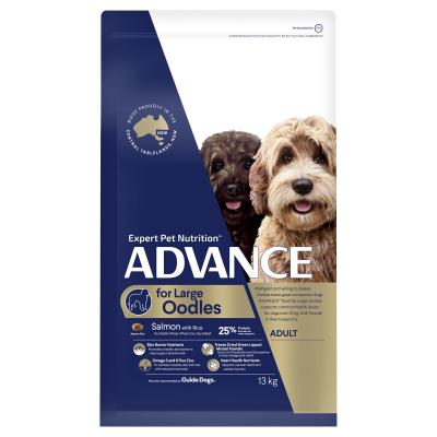 Advance Salmon With Rice Large Breed Oodles Adult Dry Dog Food 13kg