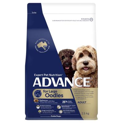 Advance Salmon With Rice Large Breed Oodles Adult Dry Dog Food 2.5kg