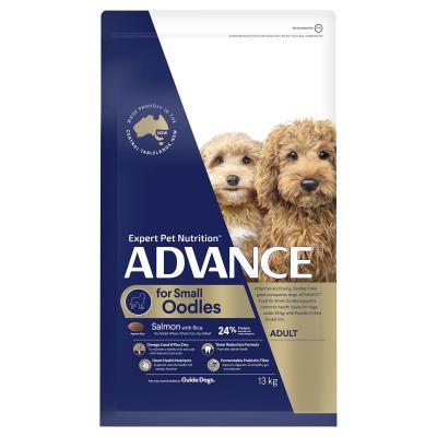 Advance Salmon With Rice Small Breed Oodles Adult Dry Dog Food 13kg