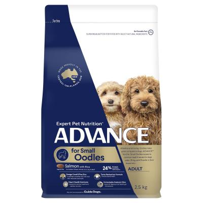 Advance Salmon With Rice Small Breed Oodles Adult Dry Dog Food 2.5kg