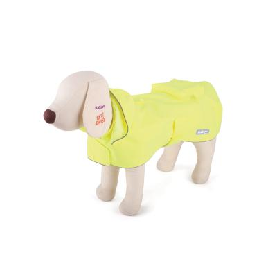 Kazoo Rainy Days Waterproof Dog Coat Yellow XXSmall 27cm
