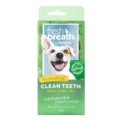 Tropiclean Fresh Breath Clean Teeth Gel For Dogs 118ml