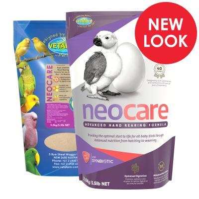 Vetafarm Neocare Hand Rearing Formula For Birds 2.5kg