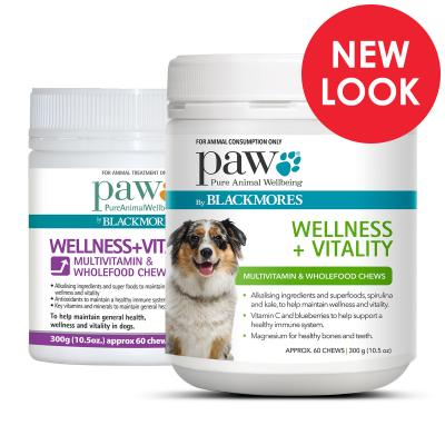 PAW By Blackmores Wellness and Vitality Multi Vitamin for Dogs 300g