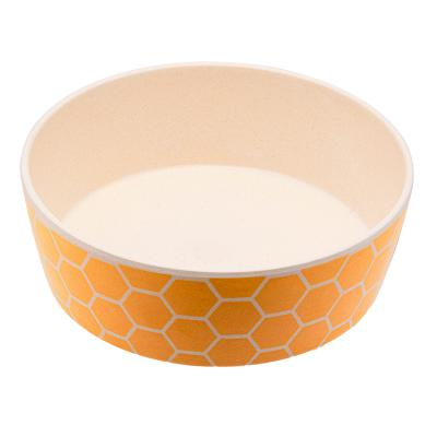 Beco Classic Bamboo Bowl Save The Bees Small For Dogs And Cats
