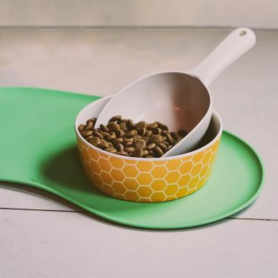 Beco Silicone Messy Eater Pet Bowl Placemat Green For Dogs And Cats 49cm