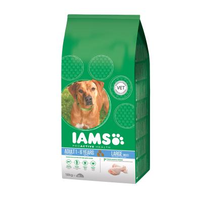 Iams Adult Large Breed Dry Dog Food 18kg
