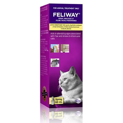 Feliway Spray For Kittens And Cats 60ml