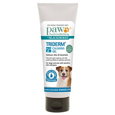 Paw By Blackmores TriDerm Calming Gel 75ml