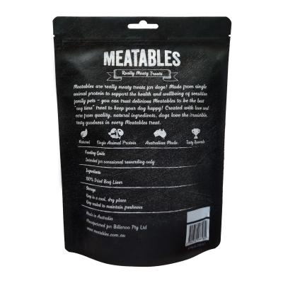 Meatables Beef Liver Snaps Premium Natural Dried Treat For Dogs 250g
