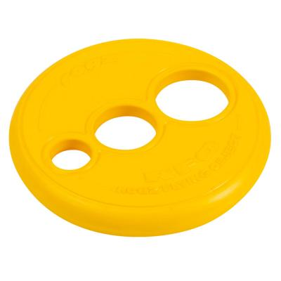 Rogz RFO Flying Frisbee Disc Fetch Toy Yellow Small For Dogs