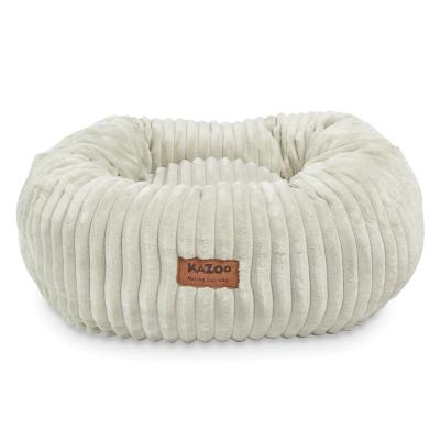 Kazoo Joey Round Plush Bed Medium For Cats And Dogs