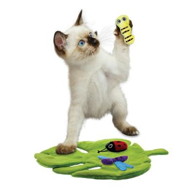 KONG Pull A Partz Bugz 4 In 1 Plush Crackle Catnip Toy For Cats