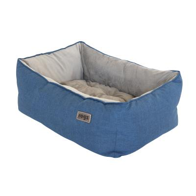 Rogz Cosmo 3D Pod Soft Cushion Bed Blue Small For Dogs And Cats