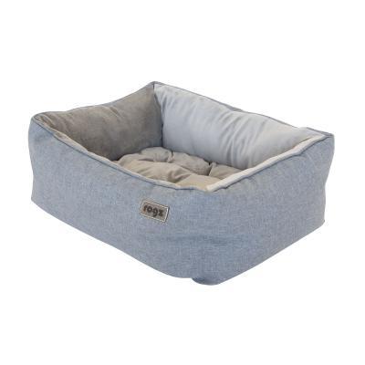 Rogz Cosmo 3D Pod Soft Cushion Bed Grey Small For Dogs And Cats