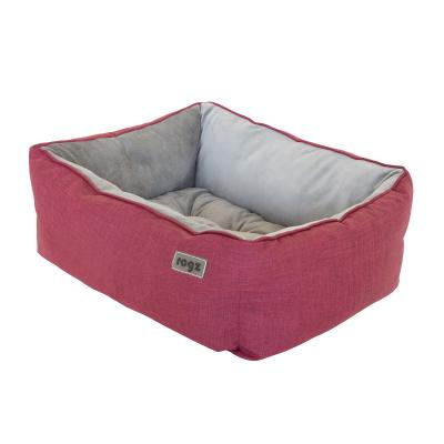 Rogz Cosmo 3D Pod Soft Cushion Bed Red Medium For Dogs And Cats