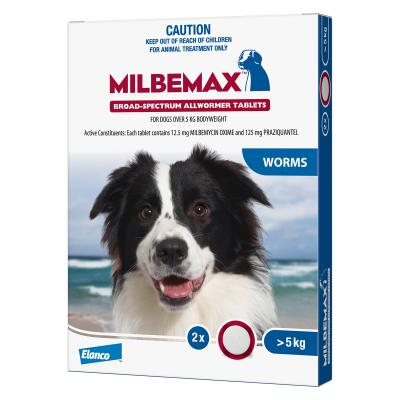 Multipet Plus - Milbemax Allwormer For Dogs And Cats