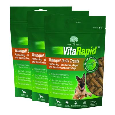 Vetalogica VitaRapid for Dogs Tranquil Daily Treats x 3