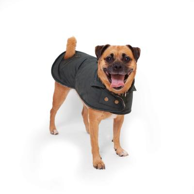 Kazoo Banksia Dog Coat Forest Green XSmall 33.5cm