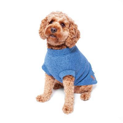 Kazoo Perisher Jacket Dog Coat Blue/Grey XSmall 33.5cm