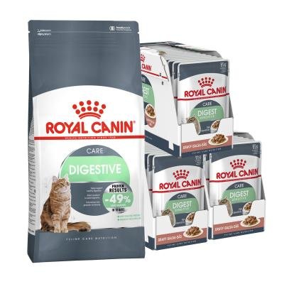 Royal Canin Bundle Digestive Care Adult Wet And Dry Cat Food