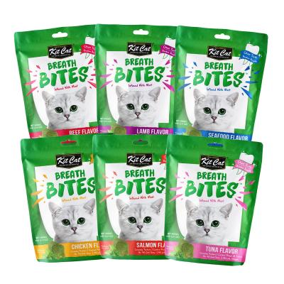 Easter Treatster Kit Cat Breath Bites Six Flavour Dental Treats Pack For Cats 360gm