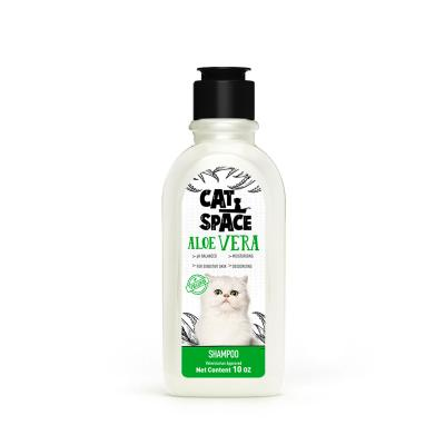 Cat Space Aloe Vera Sensitive Skin Vegan Shampoo For Cats 300ml