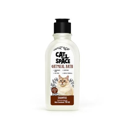 Cat Space Oatmeal Bath Sensitive Skin Shampoo For Cats 300ml