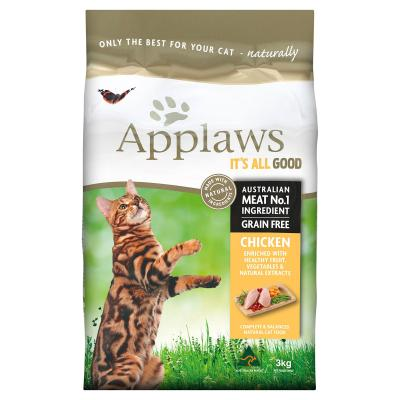 Applaws Chicken Grain Free Natural Adult Dry Cat Food 3kg