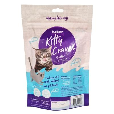 Kazoo Kitty Craves Natural Dried Fish Treats For Cats 100gm