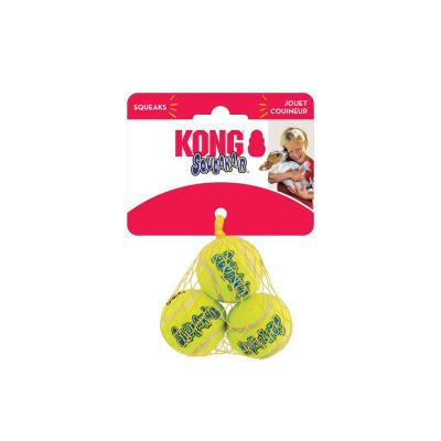 KONG AirDog SqueakAir Squeaker Balls Nonabrasive Felt XSmall Toy For Dogs 3 Pack