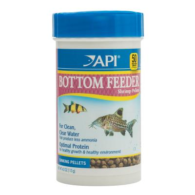 API Bottom Feeder Shrimp Pellets Food For Fish 113gm