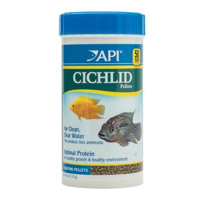 API Cichlid Pellets 2mm Food For Fish 120gm