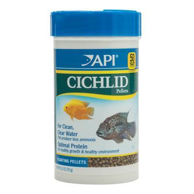 API Cichlid Pellets 2mm Food For Fish 70gm