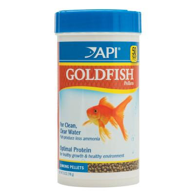 API Goldfish Sinking Pellets Food For Fish 198gm