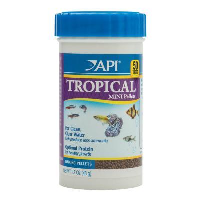API Tropical Pellet Food Mini For Fish 48gm