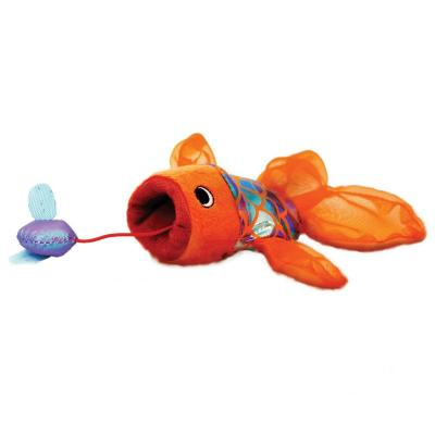 KONG Crackles Gulpz Goldfish Catnip Plush Toy For Cats