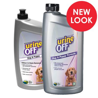 Urine Off Odour And Stain Remover For Dogs And Puppies 946ml