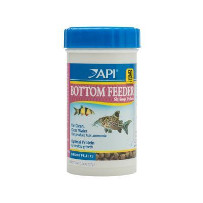 API Bottom Feeder Shrimp Pellets Food For Fish 37gm