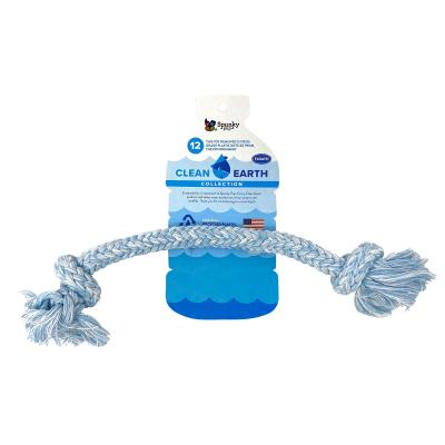Spunky Pup Clean Earth Recyclable Rope Large Water Toy For Dogs