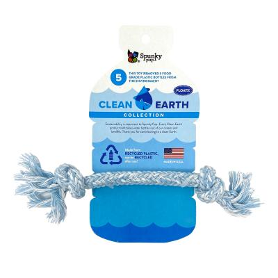 Spunky Pup Clean Earth Recyclable Rope Small Water Toy For Dogs
