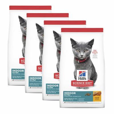 Hills Science Diet Indoor Chicken Recipe Kitten Dry Cat Food 12.68kg