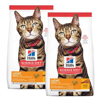 Hills Science Diet Light Chicken Recipe Adult Dry Cat Food 14.52kg