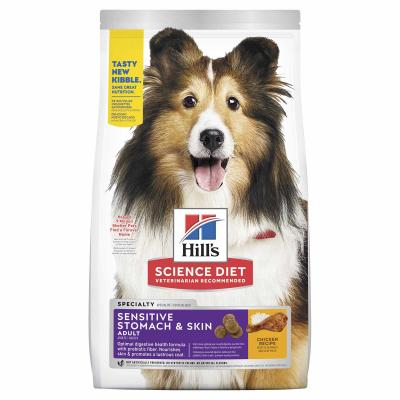 Hills Science Diet Sensitive Stomach And Skin Chicken Recipe Adult Dry Dog Food 12kg